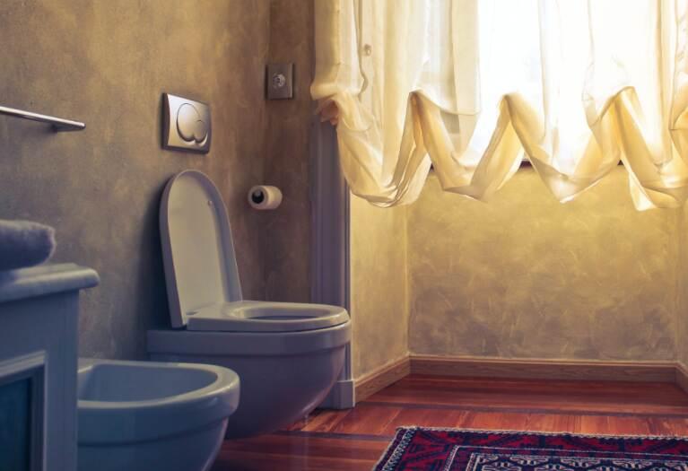 интериорен дизайн на съвременна баня